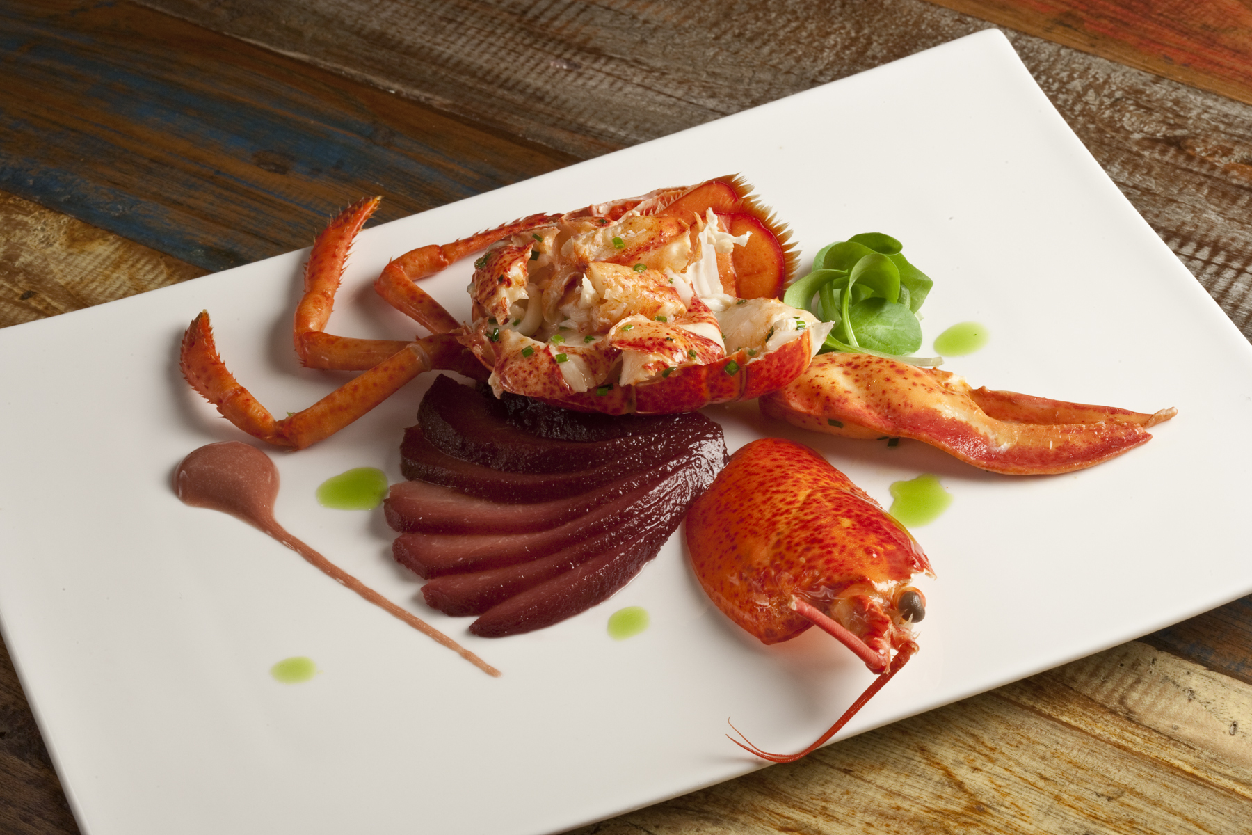 MCF Chef Claude Godard's Lobster Recipe